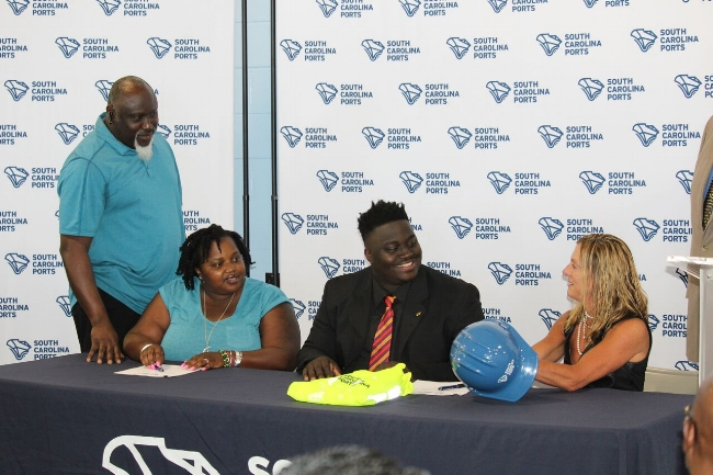 South Carolina Ports Authority Holds First Tallo Signing Day