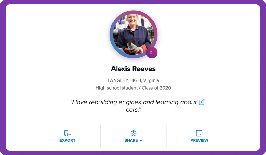 Alexis' Profile