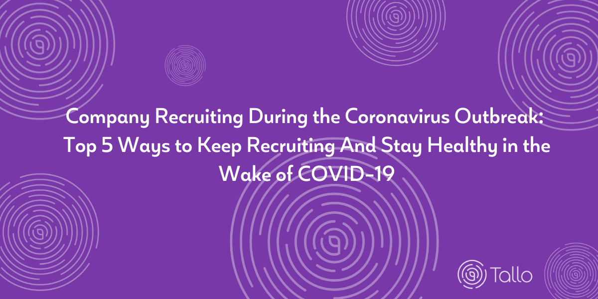 Recruiting During Coronavirus Header Image