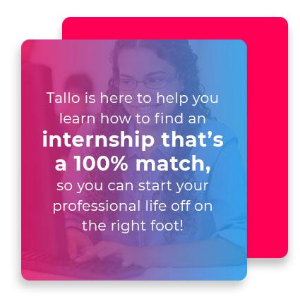 tallo internship match