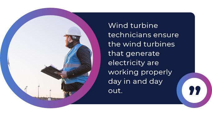 wind turbine technicians quote