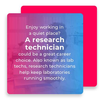 A research technician