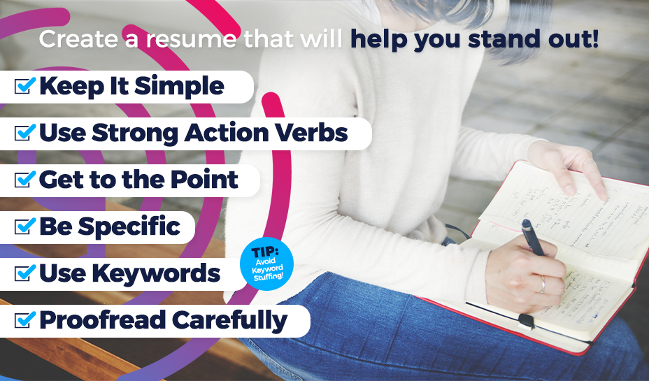 Create resume will help you stand out graphic