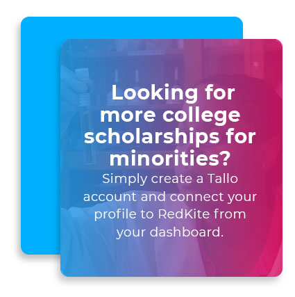 Looking for more college scholarships for minorities