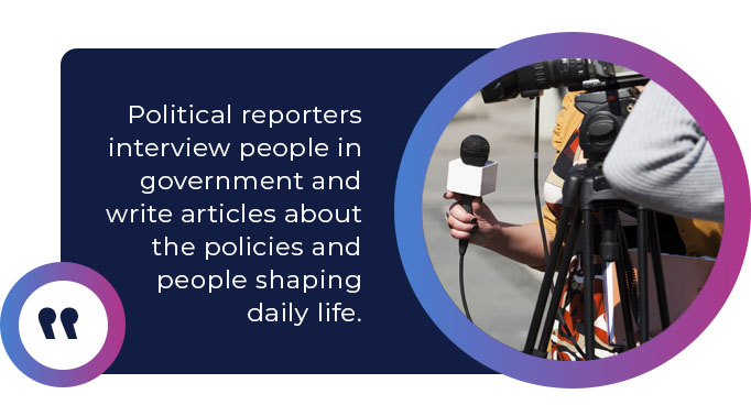 Political reporters