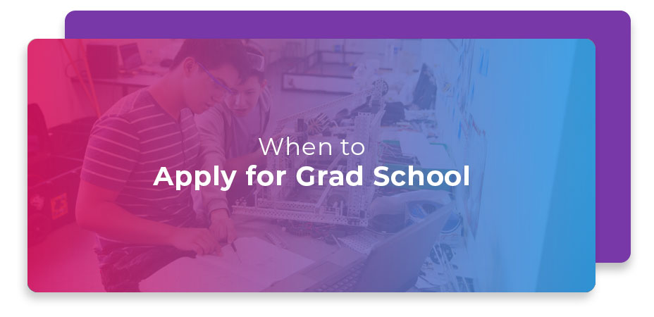 When to Apply for Grad School