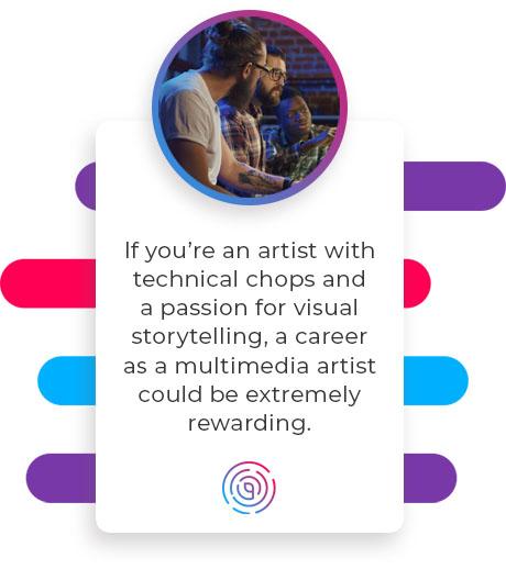 a multimedia artist career