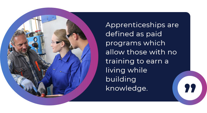 apprenticeship programs quote