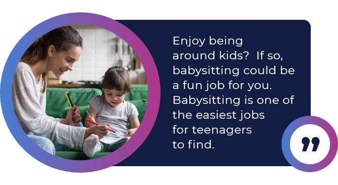 babysitting job quote