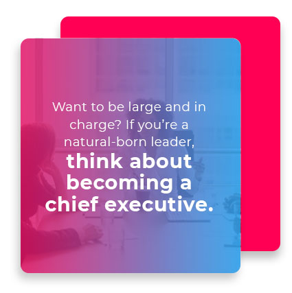 becoming chief executive quote