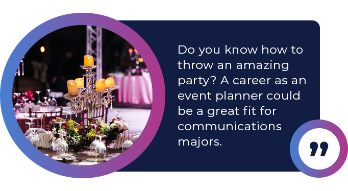 career as an event planner