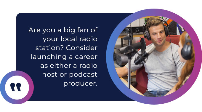 career podcast producer