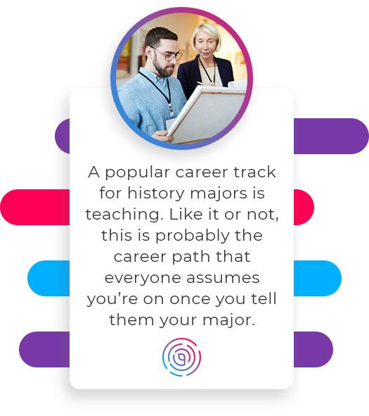 career track for history majors