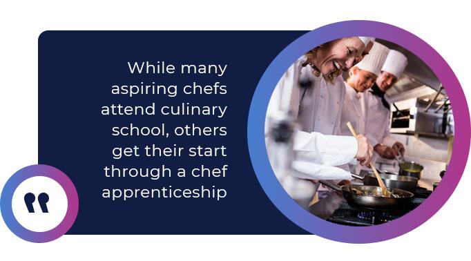 chef apprenticeship quote