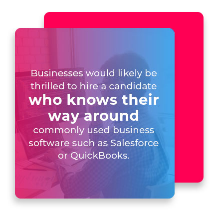 commonly used business software