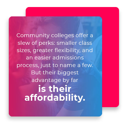 community college affordability quote