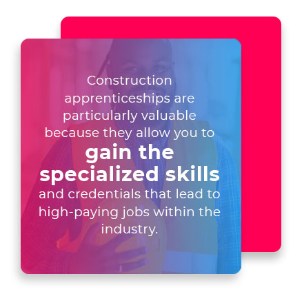 construction apprenticeships skills quote