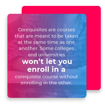 corequisite courses quote