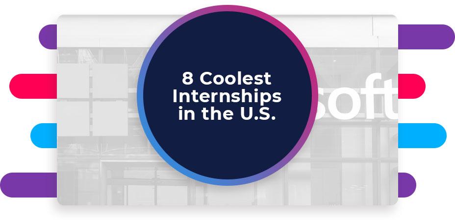 eight coolest internships united states