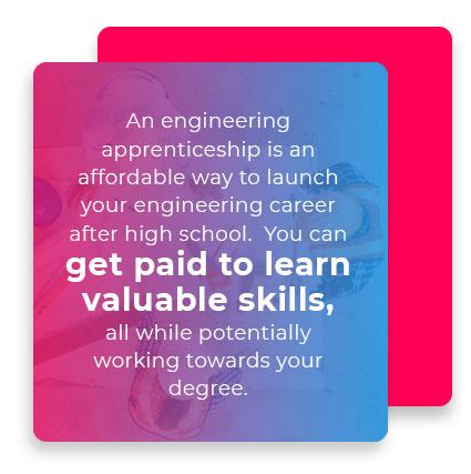 engineering apprenticeship paid skills quote