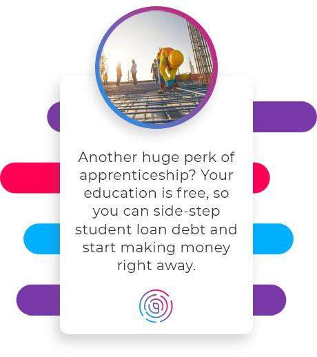 free education apprenticeship perk quote