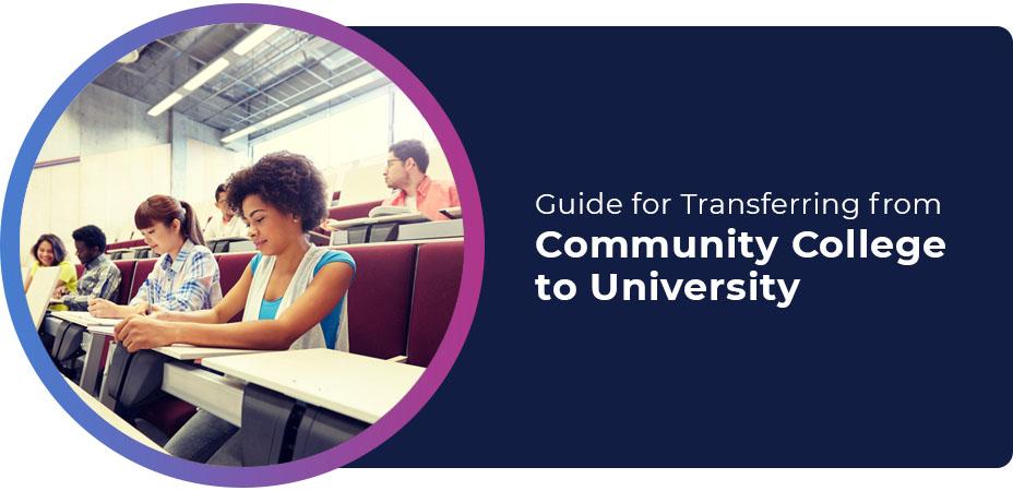 guide transferring community college