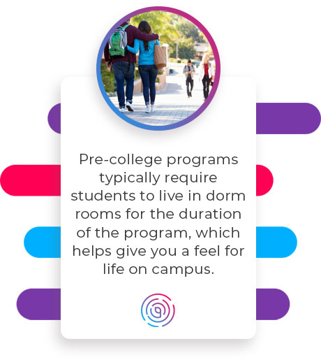 helps feel for life on campus