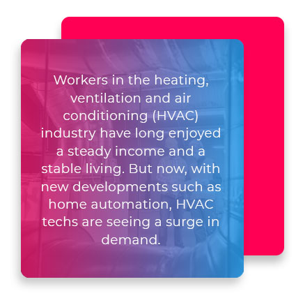 hvac industry pay and demand quote
