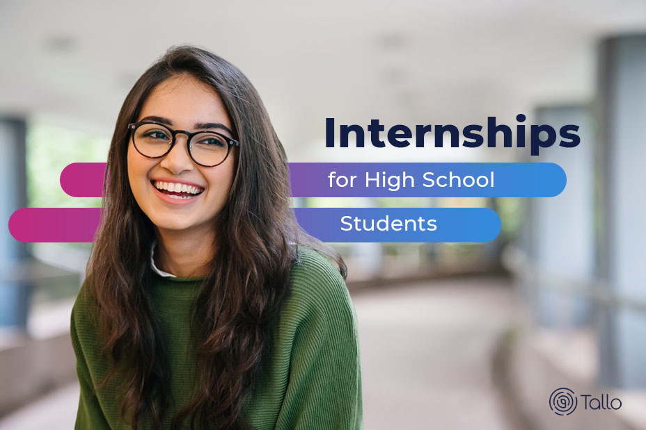 internships for high school students