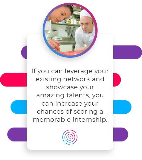 leverage network internship quote