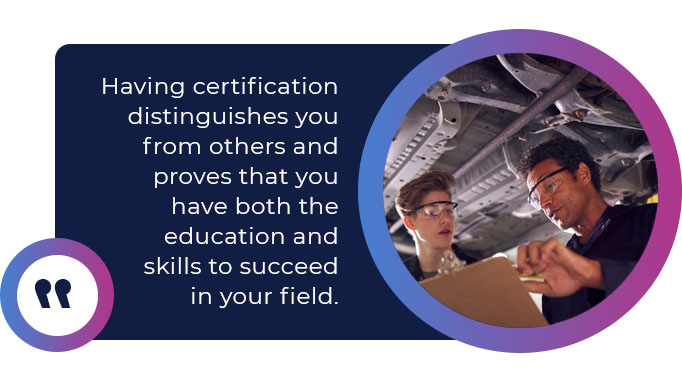 mechanical certification quote