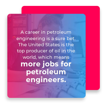 more jobs for petroleum engineers