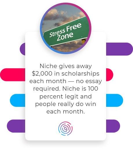 niche scholarships no essay quote