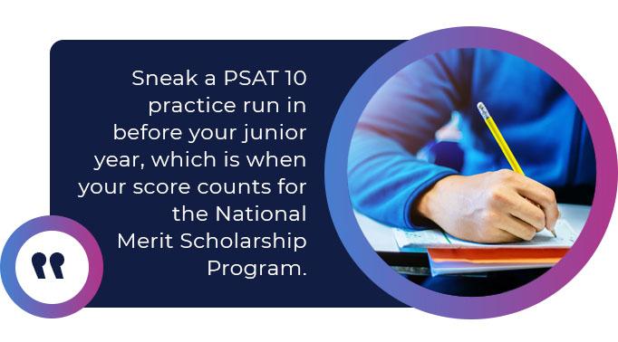 psat 10 practice run quote
