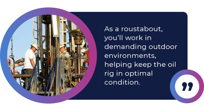 roustabout oil rig quote