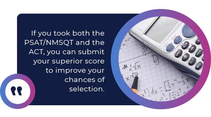 submit superior test score quote
