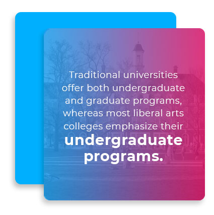 undergraduate programs quote