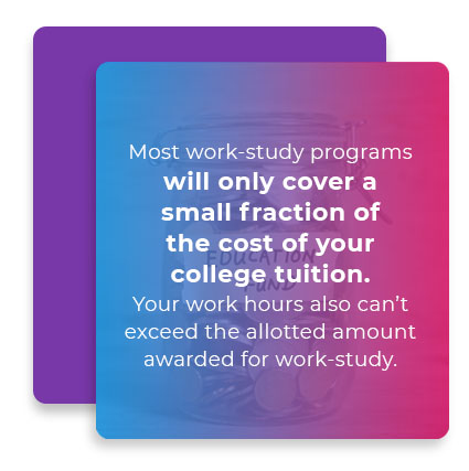 work study programs tuition quote